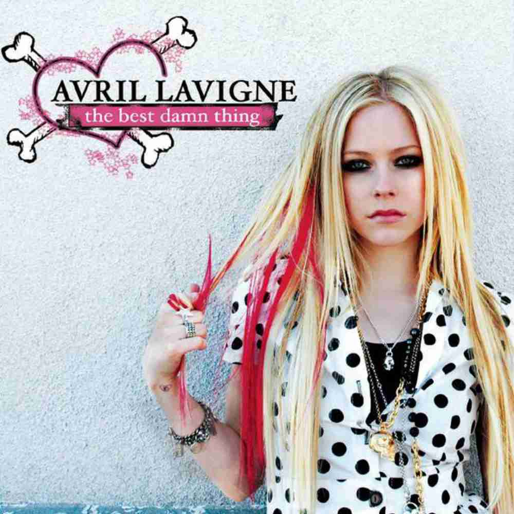 Girlfriend / Avril Lavigne のジャケット