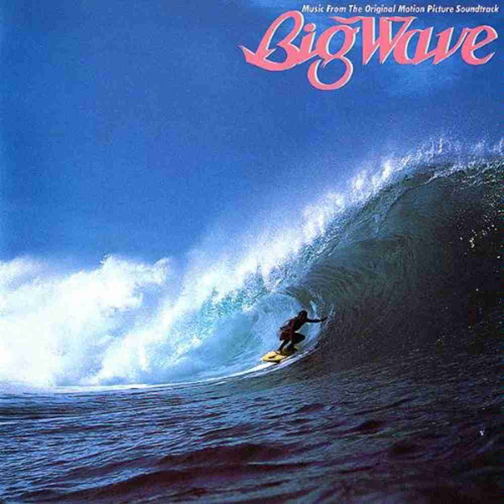 THE THEME FROM BIG WAVE / 山下達郎 のジャケット
