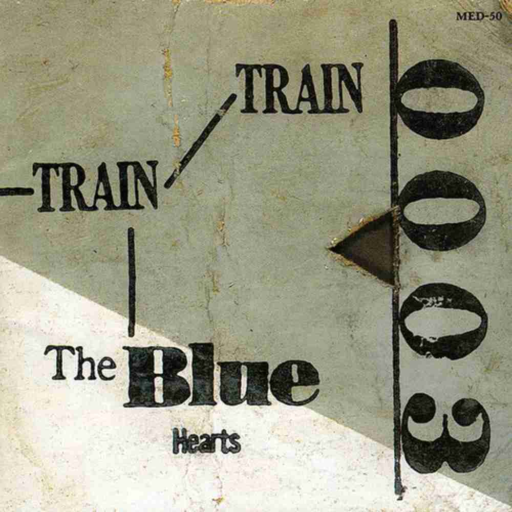 TRAIN-TRAIN / THE BLUE HEARTS のジャケット