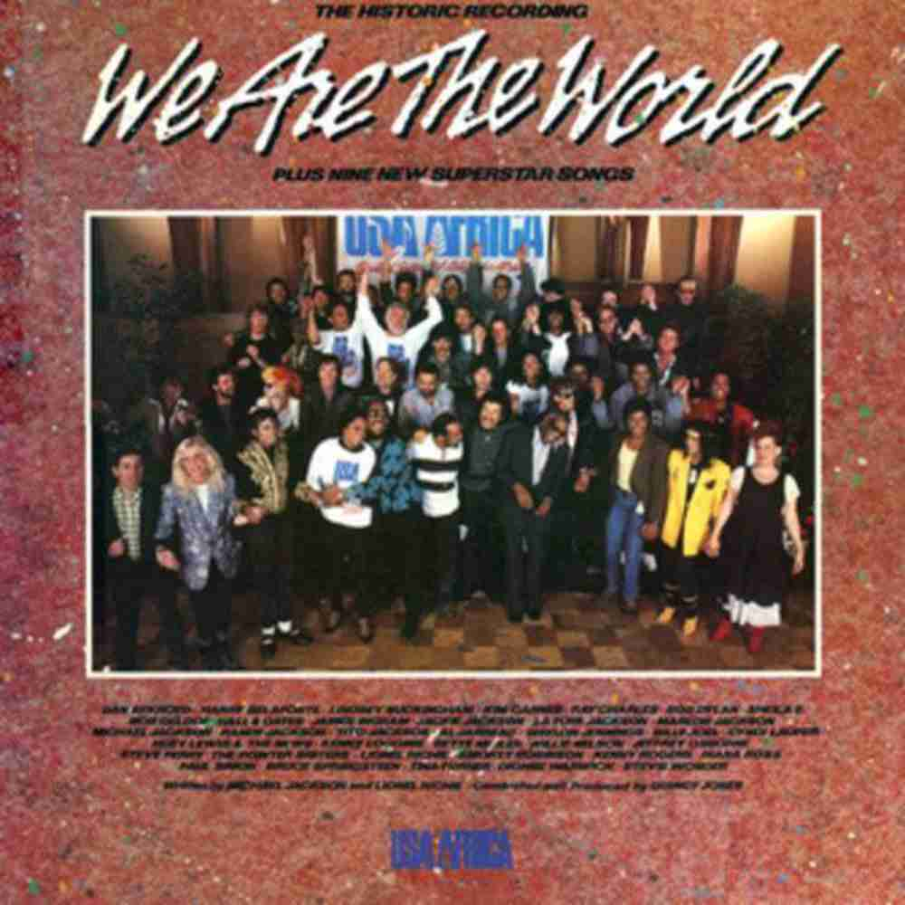 WE ARE THE WORLD / USA FOR AFRICA のジャケット