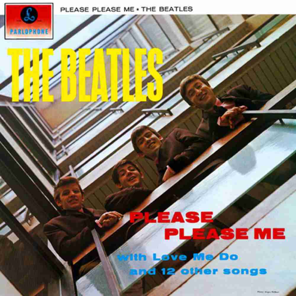 TWIST AND SHOUT / THE BEATLES のジャケット