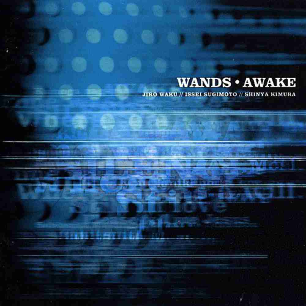 BLACK or WHITE / WANDS のジャケット