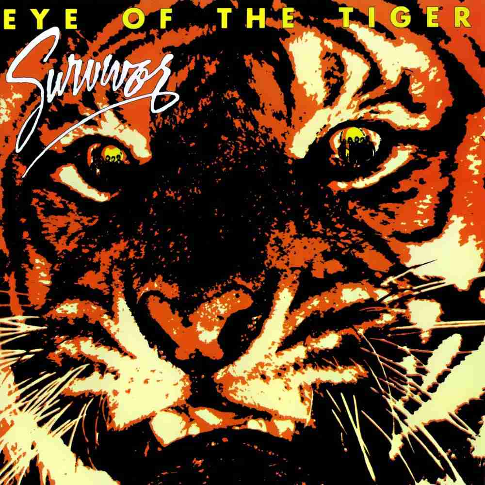 Eye of the Tiger / Survivor のジャケット